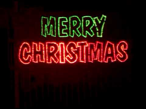 Merry Christmas Sign - Merry Christmas Sign - YouTube