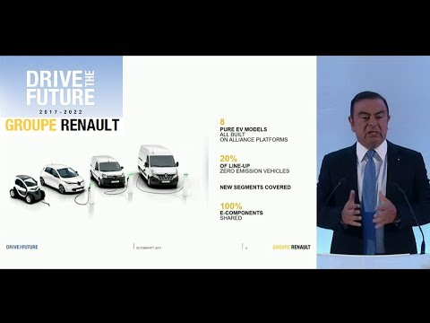 "Groupe Renault ""Drive The Future 2017-2022"" Strategic Plan - Press Conference"