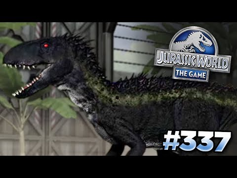 Download Youtube: INDORAPTOR IN THE GAME?!? || Jurassic World - The Game - Ep337 HD