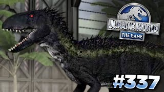 INDORAPTOR IN THE GAME Jurassic World - The Game - Ep336 HD