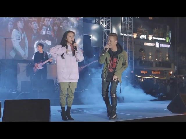 Phương Ly và Justatee hát live bài Người nào đó