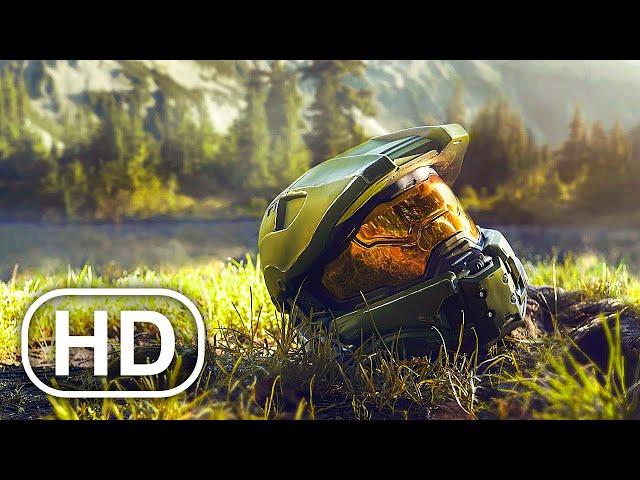 HALO Full Movie (2021) 4K ULTRA HD Action All Cinematics Full Story