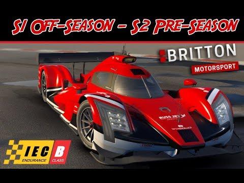 Motorsport Manager - Endurance Series DLC - S1 Off Season & S2 Pre Season - Britton Motorsport
