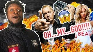 Eminem - Walk On Water (Audio) ft. Beyoncé (REACTION)