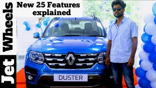 2019 Renault Duster facelift price variants 25 New features explained|Duster Facelift 2019