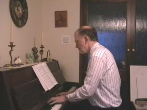 Un bel di (One fine day) from Madame Butterfly played on piano