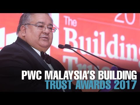 NEWS: PwC Malaysia holds Building Trust Awards 2017