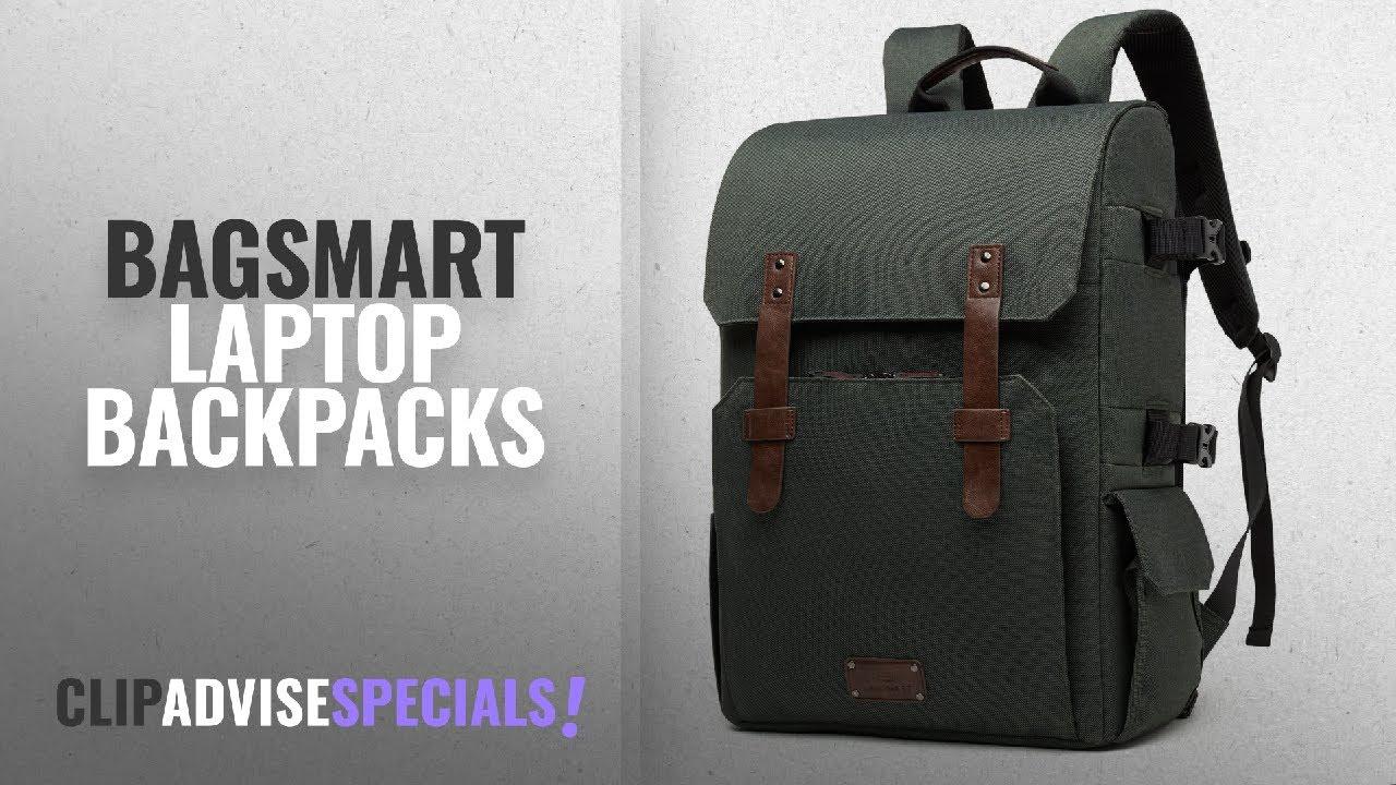 82cc420b7012 Bagsmart Laptop Backpacks [2018]: BAGSMART Camera Backpack for SLR/DSLR  Cameras & 15.6