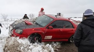 Субару Доминируют. Ралли-Спринт  Winter Rally Livny