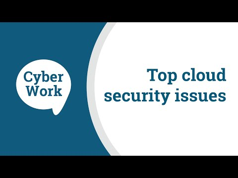 Top cloud security issues and challenges | Cyber Work Podcast