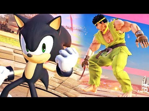 Super Smash Bros. Ultimate: Ryu, Sonic, Lucario, King K. Rool etc thumbnail