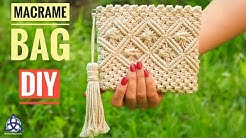 Macrame Bag Tutorial - DIY Macrame Wallet for Girls