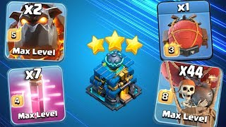 LavaLoon With Battle Blimp Strategy   NEW War 3 Star Attack TH12 Guide Clash Of Clans