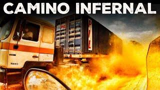 CONGO, 220 KILÓMETROS  en 9 HORAS / CAMINO INFERNAL / ÁFRICA EN MOTO (S04/E02) VUELTA AL MUNDO
