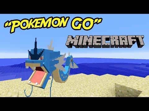 POKEMON GO I MINECRAFT! (Pokeworld)