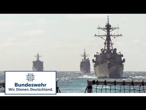Deutsche Fregatte schützt US-Flugzeugträger – Bundeswehr