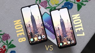 Redmi Note 8 vs Note 7   Is Worth for Upgrade??   Camera Display Features Unboxing
