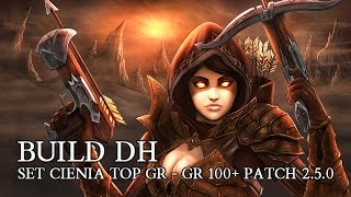 diablo 3 pl build dh set cienia patch 2 5 0 top gr team gr y 100