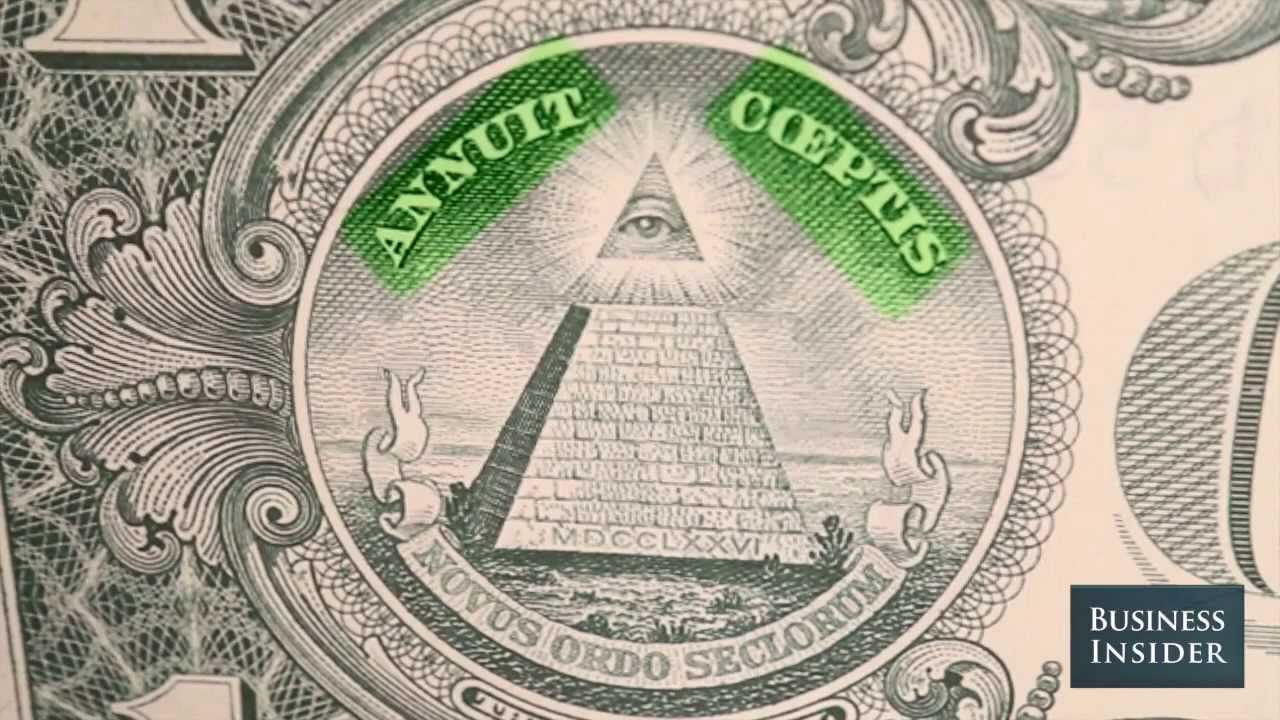 What The Pyramid On The Back Of A One Dollar Bill Means Youtube