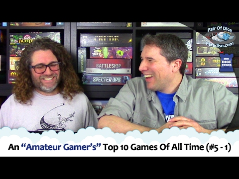 "An ""Amateur Gamer's"" Top 10 Games Of All Time (#5 - 1)"