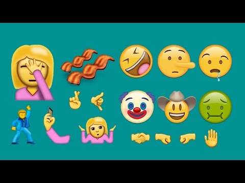 All 72 New Emojis for 2016