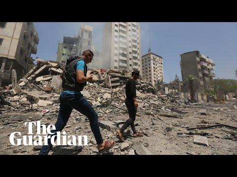 Gaza suffers deadliest airstrikes yet as Israel targets Hamas leader