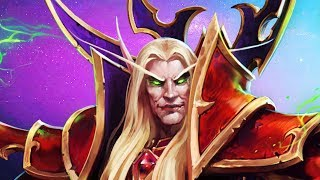 Kael'thas Cooldown Reduction Build | Heroes of the Storm Gameplay