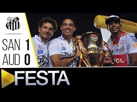 Santos 1 x 0 Audax | FESTA NO GRAMADO | Paulistão (08/05/16)
