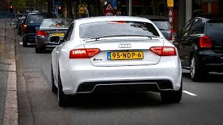 Audi RS5 w/ Akrapovic Exhaust - LOUD REVS, Accelerations & SOUNDS!