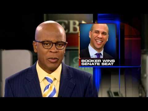 Democrat Cory Booker Wins NJ Senate Seat
