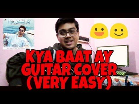 Kya Baat Ay - Harrdy Sandhu | Guitar Cover by Akash Ghorai
