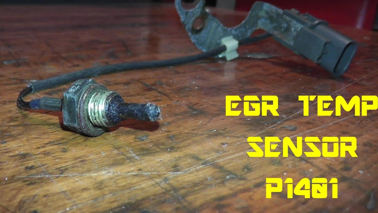 Egr Temp Sensor P1401 Testing And Replacement Youtube Ford Location V6 F150 2000