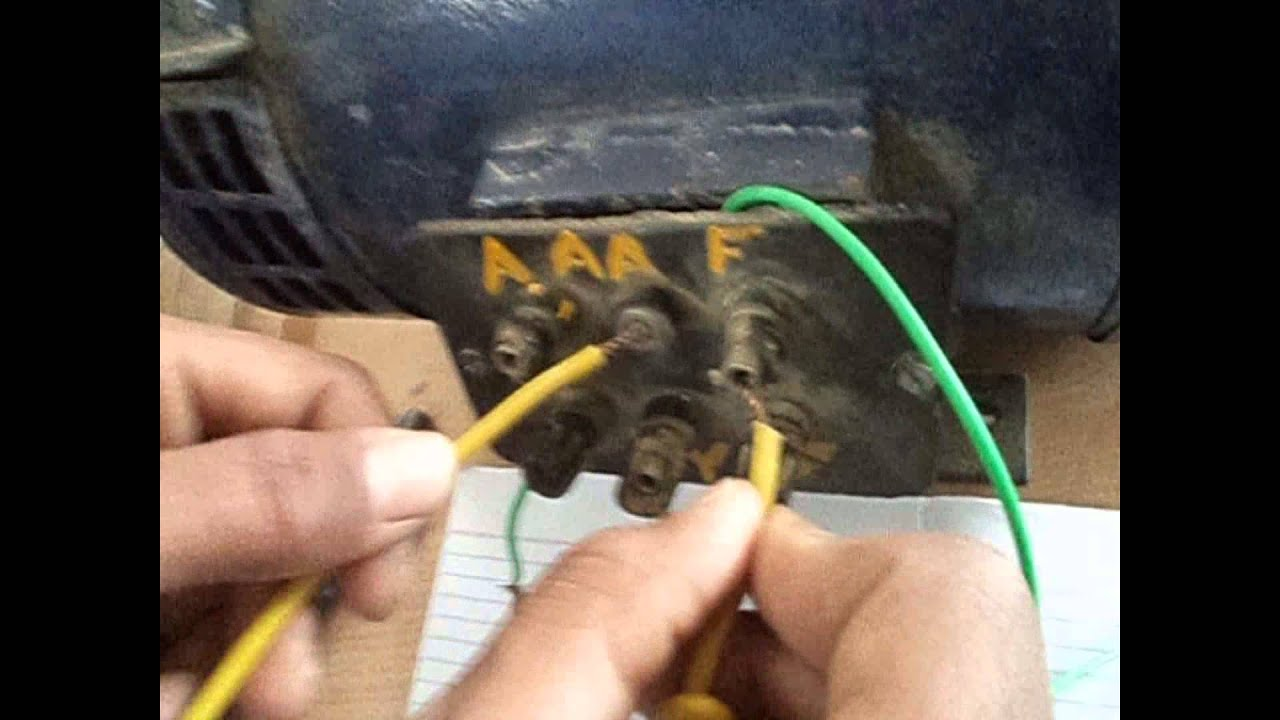Dc Compound Motor Terminal Identification Edited Youtube Control Circuit Diagram On Shunt Wound Wiring