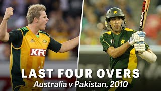 From the Vault: MCG T20 comes down to the wire