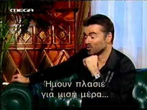 George Michael interview at Greek TV,part B