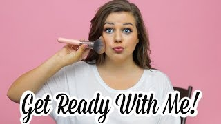 My Makeup Routine!! Get Ready With Me for Date Night!