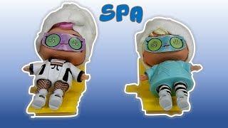 SPA das LOLs! Banho de Ouro! Máscara massagem e banheira de partículas de ouro!