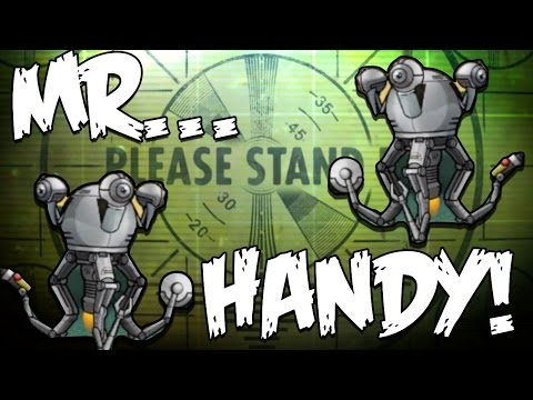 Fallout Shelter | Where's MR HANDY?! | Update 1.1 Welcomes ANDROID Users!