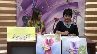 Pintura Estamparia em Tecido por Julia Passerani – Parte 2
