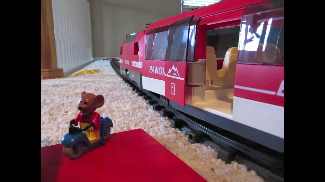 Playmobil train playmobil zug youtube - Train playmobil ...