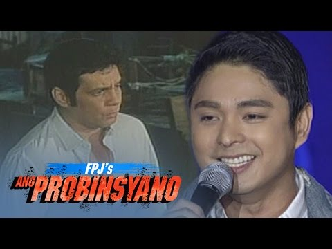 """Coco Martin sings """"Doon Lang"""" with FPJ 