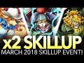 x2 SKILL UP! 15th March 2018! (One Piece Treasure Cruise - Global)