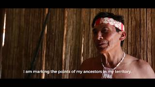 Matsés Map their Ancestral Lands