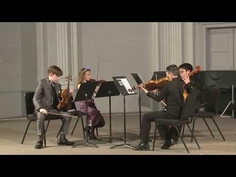 2017 Precollege Final Chamber Concert | Concert de musique de chambre niveau préuniversitaire 2017