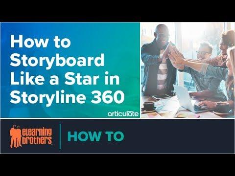 Webinar: How To Storyboard Like A Star In Storyline 360