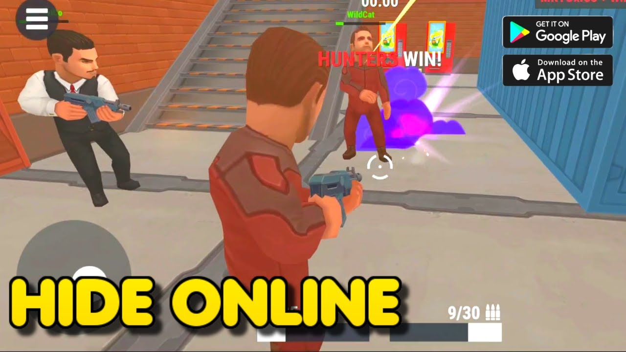 Hide Online Hunters Vs Props Hide And Seek Multiplayer Game Gameplay 1 Android Ios Game Youtube