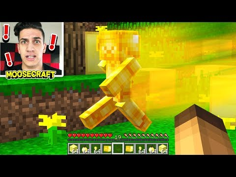 Thumbnail: I FOUND GOLD STEVE IN MINECRAFT! (100% PROOF)