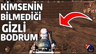 KİMSENİN BİLMEDİĞİ GİZLİ BODRUM - PUBG MOBILE ( Please Fix This Bug )