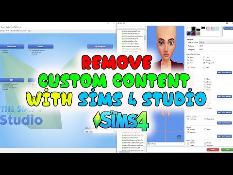The Sims 4 – How to remove unwanted CC with the Sims4Studio