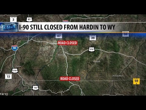 Floodwaters keep I-90 closed between Hardin and Wyoming state line on us 30 road map, i-90 today, interstate 90 wisconsin map, sr 99 road map, route 20 road map, i90 road map, us 20 road map, i 10 road map, highway 50 road map, i-90 corridor, i-70 road map, i-57 road map, i-72 road map, i-93 boston map, interstate 5 road map, route 90 map, i 90 tollway map, i-90 traffic cameras, i-90 weather conditions, pennsylvania turnpike road map,